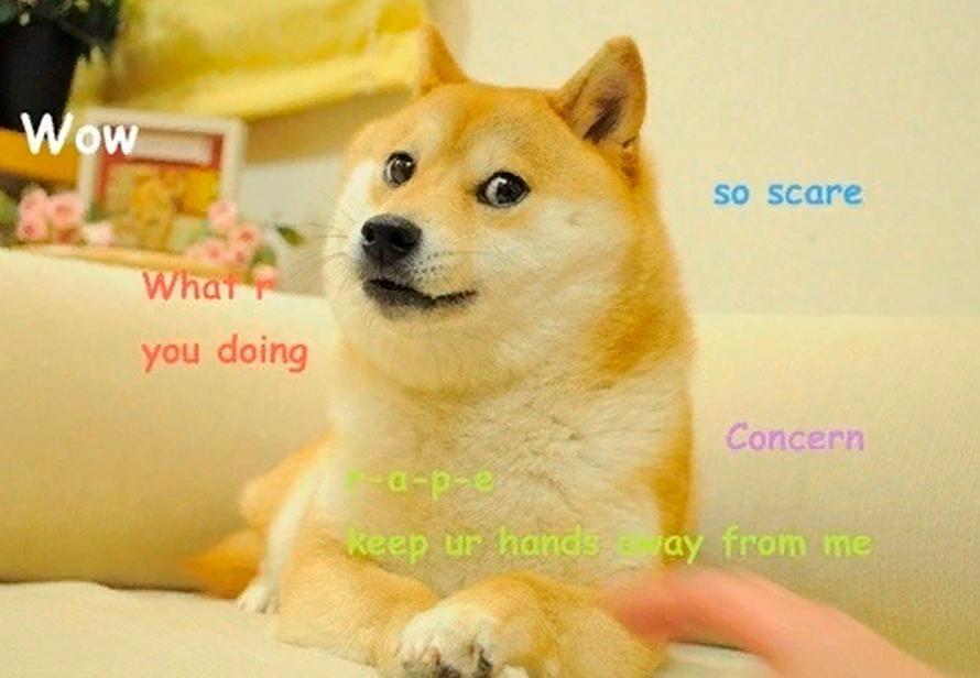 NFT мем собака шиба ину Doge
